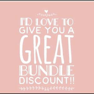 Other - 💥💥BUNDLE AND SEE YOUR DISCOUNT💥💥